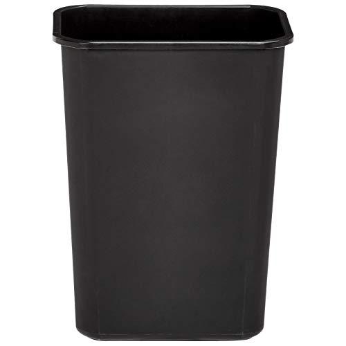 AmazonBasics 10 Gallon Commercial Waste Basket, Black, 12-Pack by AmazonBasics (Image #3)