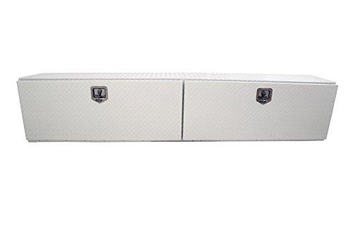 Dee Zee DZ67WH White-Tread Aluminum Topsider Tool Box - 96