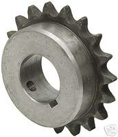 Martin Sprocket & Gear 40BS27 1 - Finshed Bore Sprocket - 40/1/2 in, Finished with Keyway, 1 in, 27, Steel ()