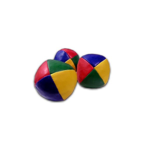 3er-Set Beanbags-Jonglierbälle/65mm
