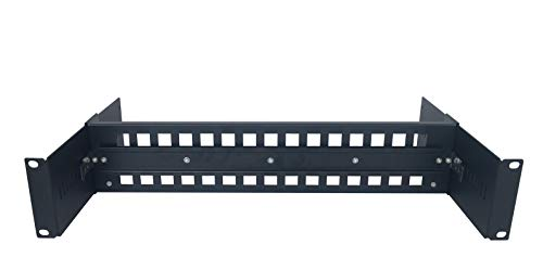 (19 Inches Rackmount Adjustable DIN-Rail Bracket Used for Media Converter, Ethernet Switch, Industrial PoE Switch etc)