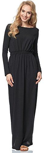 Merry Style Vestido para mujer MSSE0005 Negro