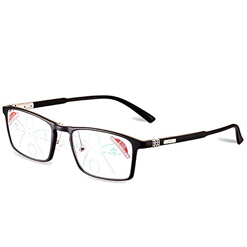 New Smart Light Therapy Glasses HRYHY Smart Reading Glasses are Unisex, Anti-Blue Light Automatic Zoom Classic Reading Glasses for far and Near, can be Used for Driving, Walking,+1.5 2019