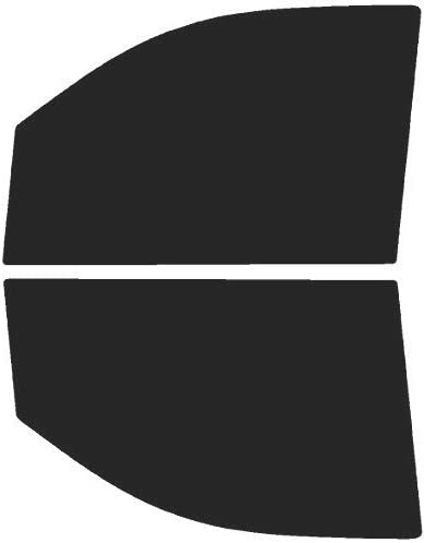 Precut Window Tint Kit Fits: GMC Sierra 1500 Crew Cab 2014 2015 2017 2019 Limited Automotive Window Film 2016 2018 /& Includes: Front Visor precut in 5/%