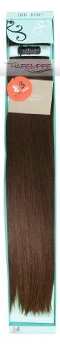 "Bobbi Boss 18"" Inches Indi Remi Premium Virgin Human Hair Extension Weave SILKY Texture Color #4 (Medium Brown)"