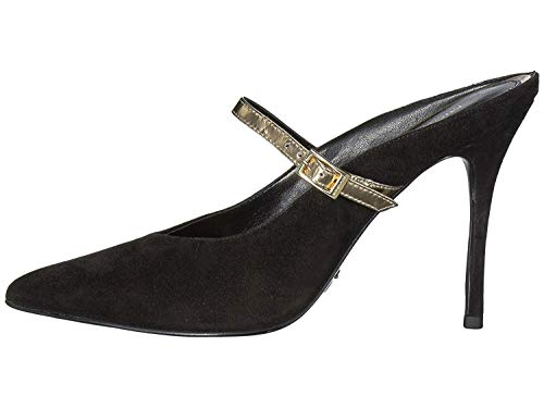 - Michael Michael Kors Womens Tiegan Closed Toe Ankle Strap, Black Suede, Size 9.5