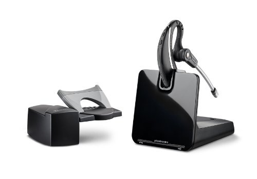 (Plantronics CS530 Office Wireless Headset with Extended Microphone & Handset Lifter (Certified Refurbished))