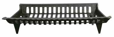 Panacea Products Corp 27' Blk Cast Iron Grate 15427 Fireplace Grates & Andirons (Cast Iron Fireplace Grate 27)