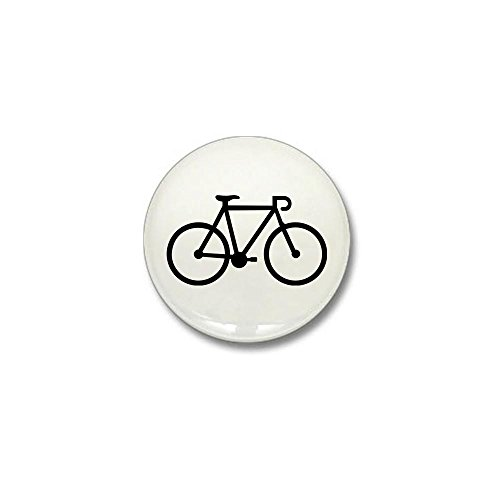 CafePress - Bicycle bike Mini Button - 1