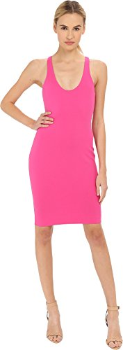 DSQUARED2 Women's Compact Jersey Dress Fuchsia (Dsquared2 Womens Clothing)