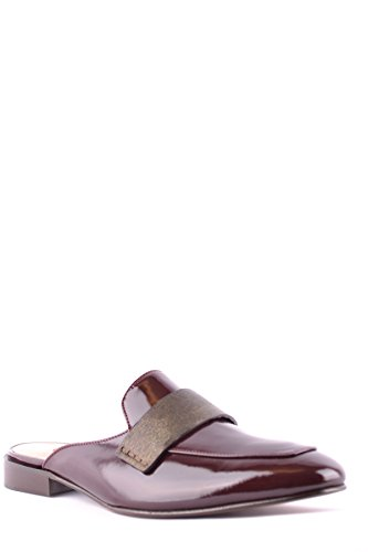 L'Autre Chose Women's MCBI347007O Burgundy Patent Leather Sandals free shipping the cheapest FiEuSe0hMs