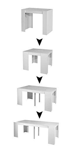 Elastic Expandable Console Table ()