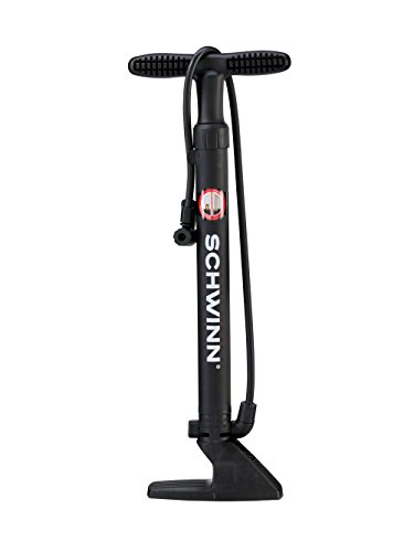 Schwinn Bicycle Floor Pump (16-Inch) (Bicycle Tire Pump)