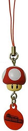 Tomy Super Mario Bros. Wii Mini Mascots Keychain Charm ~1