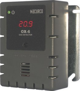 OX-6 Oxygen O2 (Low Voltage) Fixed Gas Detector Controller ()