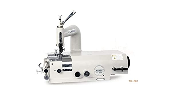 BAOSHISHAN TK-801 - Máquina de coser de cuero sintético (110 V/220 V, para rascar bordes, zapatos de piel sintética, artículos de plástico, piel, pala de papel, máquina de papel): Amazon.es: Hogar