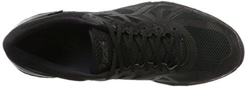 Homme Black Running Gel Phantom TX de Black 6 Noir Asics Fujitrabuco G Chaussures RP0qpp8g