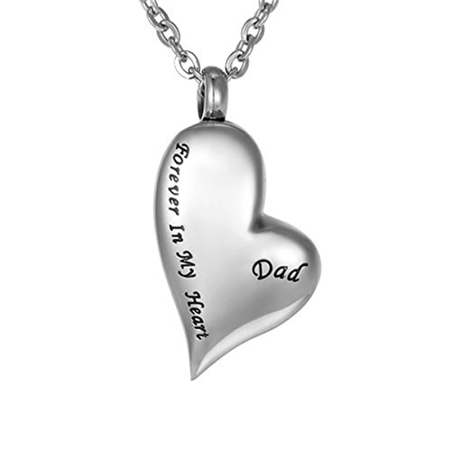 ZARABE Cremation Jewelry Memorial Necklace