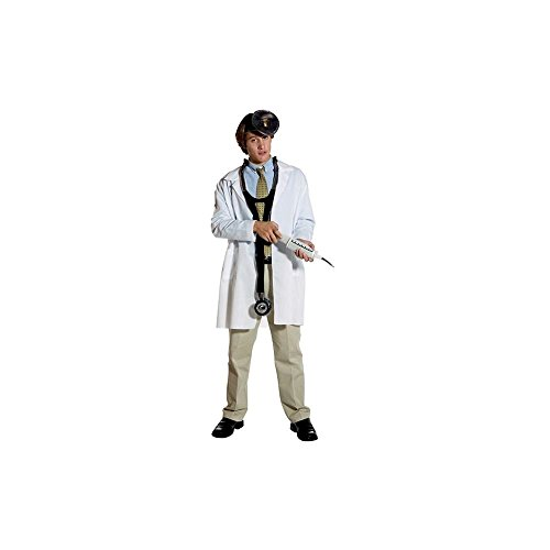 Rasta 7211-09 Plain Lab Coat - One Size Fits Most ()