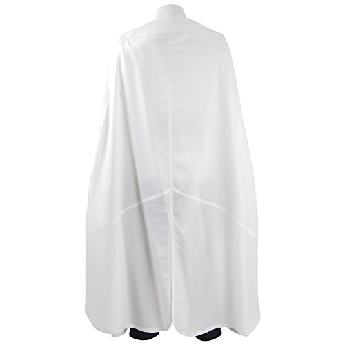Fancycosplay Mens Battle Uniform White Cloak Full Set Cosplay Costume (Man-XXL) by Fancycosplay (Image #2)