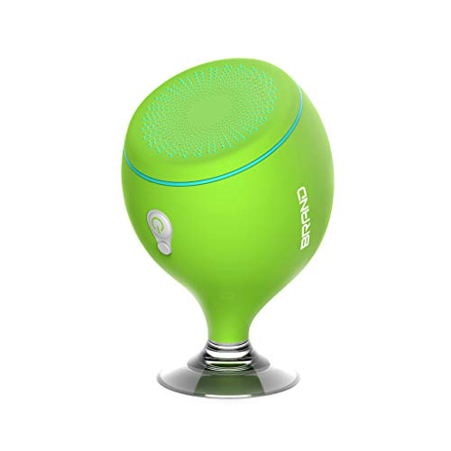 NOMENI S6 Floating Colorful 6-Level Full Waterproof Wine Glass Bluetooth Speaker, Wireless Bluetooth Outdoor Suction Cup Bathroom Bluetooth Speaker