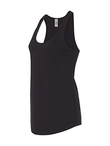 6933 Next Level The Racerback Terry Tank Black S