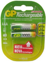 Replacement For IN-1F659 GP AAA RECHARGEABLE 1000MAH NIMH BATTERY 2PK Rechargeable Battery 10 PACK by Technical Precision