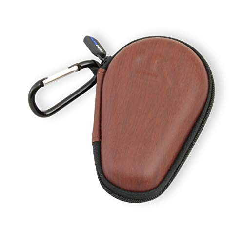 - CASEMATIX Asthma Inhaler Case Includes Carabiner for Travel While Keeping it Dust and Dirt Free - Prevent Accidental Sprays (Wood Pattern)