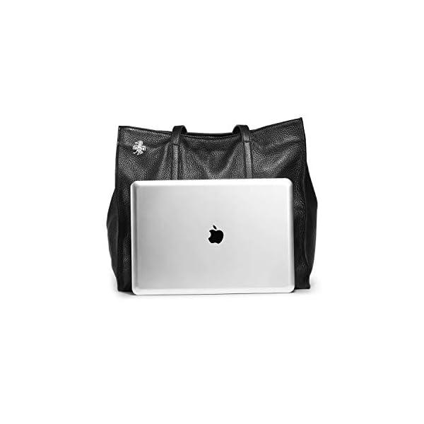 Orabird Casual Women's Black Tote Bag 2