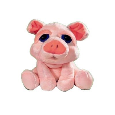 Russ Berrie Li'l Peepers Audrey the Pig Beanbag Small Plush Toy 5