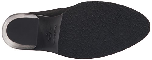 Aquatalia Mujeres Libby Brush Oil Suede Mule Black