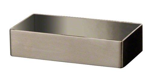 American Metalcraft SSPT3 Stainless Steel Sugar Accessory Holder, 4-1/4-Inch, Satin INC.