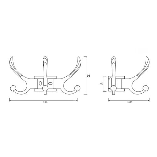 good Bedroom hooks/Wall hanging hooks/ coat rack/Continental activities linked to-B