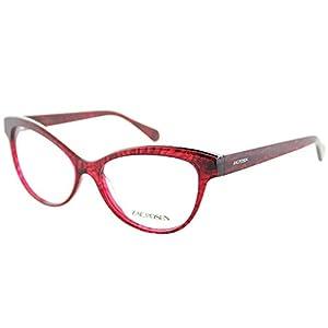 Zac Posen Jayce RD Red Plastic Cat-Eye Eyeglasses 54mm