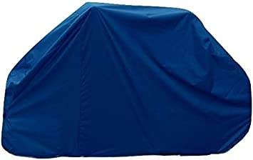 Bags and Covers Direct Motor home//Caravan 2 Bike Cover with Zips for Rear Vehicle Wall Mounted Style Bike Racks Grey