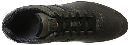 Boss Orange Men's Adrenal_Runn_pp1 10201494 01 Low-Top Sneakers, Brown Black