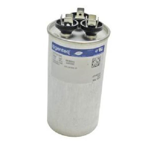 Genteq Capacitor Dual Run Round 35uF + 5uf MFD (micro Farad) 370 Volt VAC 97F9834 (replace old GE# Z97F9834) 35uF/5uF at 370 volts from Genteq