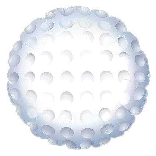 CTI Balloons Foil Balloon 114453 Golf Ball, 17