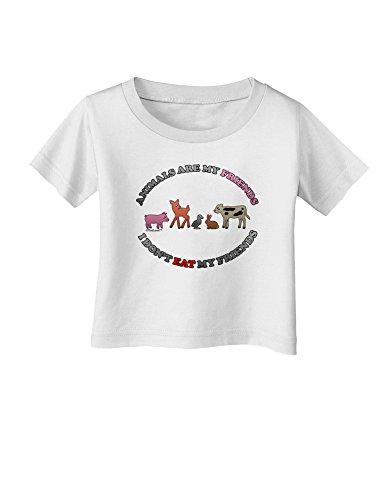 TooLoud I Dont Eat My Friends Infant T-Shirt