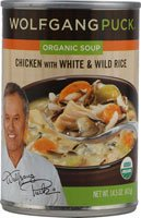 Wolfgang Puck Organic Soup Chicken with White and Wild Rice -- 14.5 fl oz