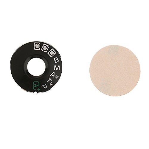 MagiDeal Appareil Photo Cadran Mode Plaque Interface Bouchon Bouton Bouton Bouton Réparation Partie Pour Canon Eos - 5D3 a6b629