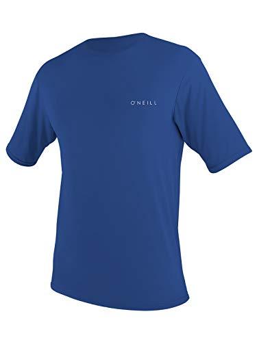 O'Neill Men's Basic Skins UPF 30+ Shortsleeve Sun Shirt XL Pacific