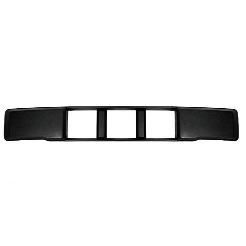 NEW Front Bumper Lower Grille Trim Panel Black For 15-17 Ford F-150