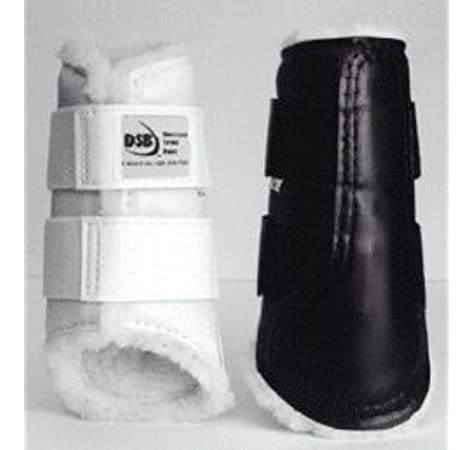 Different Sizes DSB The Glossy Dressage Sport Boot White