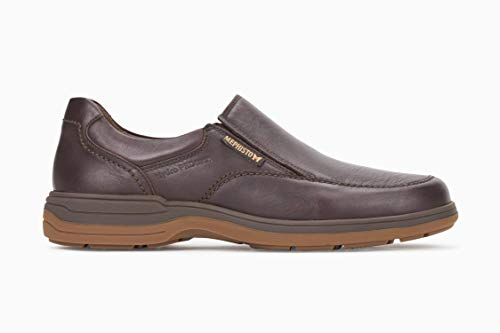 Mephisto Men's Davy Slip On Shoes Dark Brown Leather 11 M -