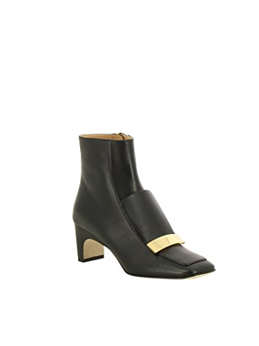 A78930mnan071000 Rossi Leather Women's Boots Black Sergio Ankle P6wUqxPR