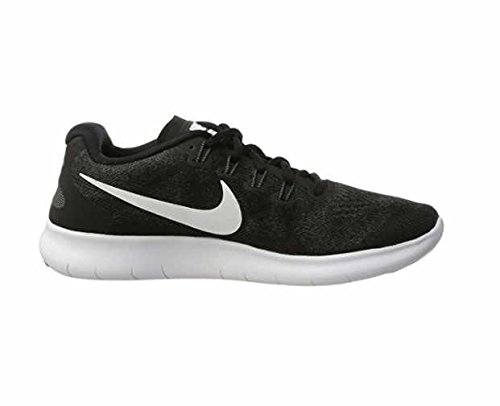 NIKE Free RN 2017 Mens Running Trainers 880839 Sneakers Shoes (UK 6 US 7 EU 40, Black White Dark Grey 001) by Nike (Image #2)