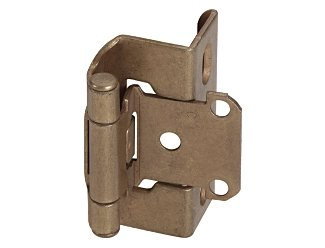 Amerock CM7540BB SelfClosing Full Wrap QTY Cabinet Hinge, (Full Wrap Hinge)