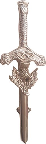 (McWilliams Traditional Celtic Highland Modern Thistle Kilt Pins Accessory for Kilt)