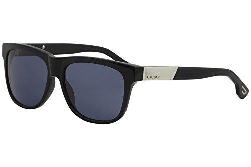 Diesel Unisex DL0085 Acetate Black Sunglasses - Diesel Sunglasses Mens